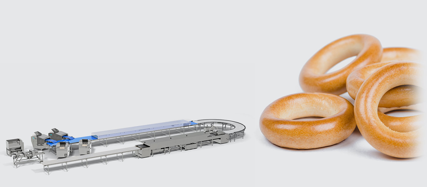 Automatic line for the production of bread rings - foto №2