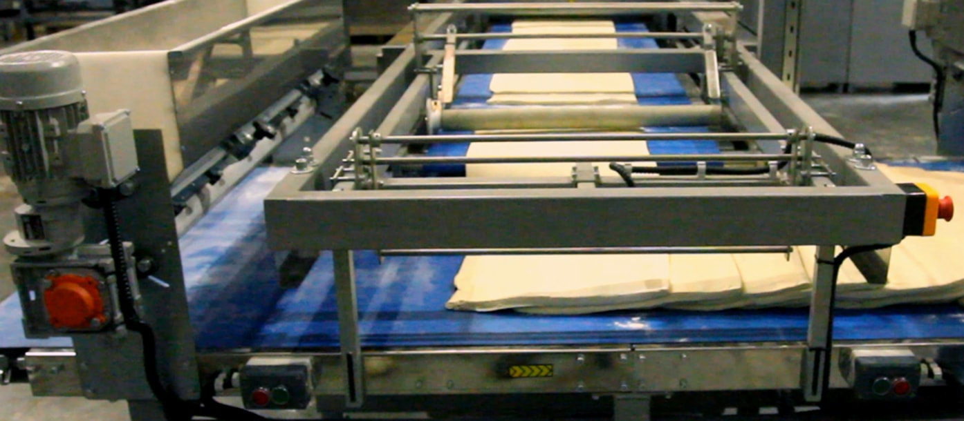 Launch of the new automatic line for puff pastry production manufactured by UTF-GROUP #4