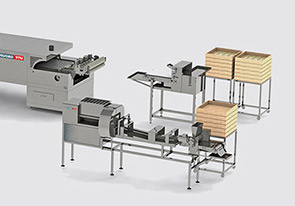 Semiautomatic line for lavash production