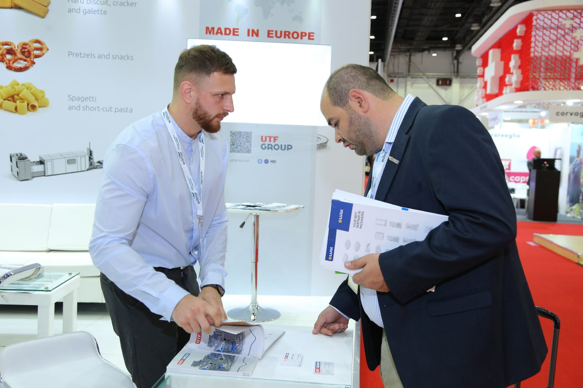 UTF-GROUP presented its products at the exhibition in Dubai #1