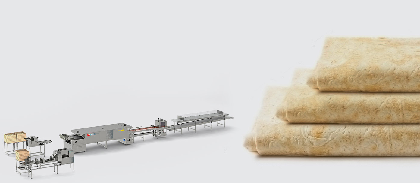 Semiautomatic line for lavash production - foto №2