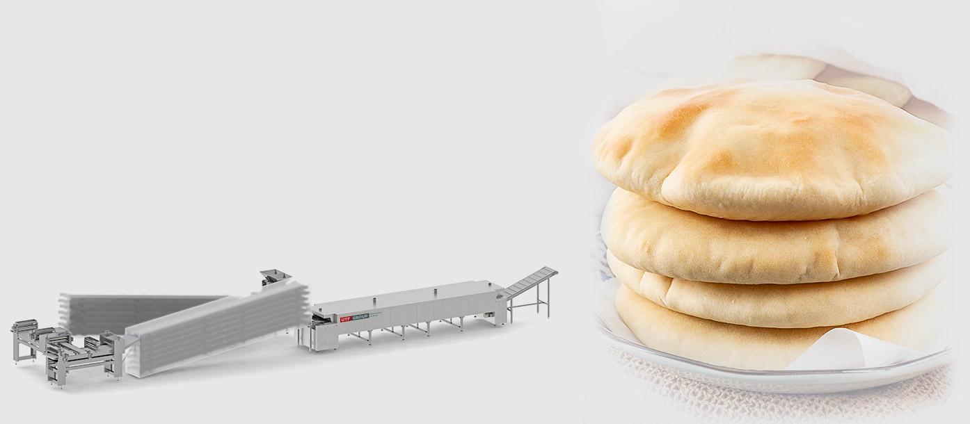 خط انتاج خبز البيتا العربي  Pita production line - foto №2