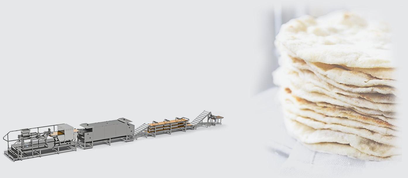 خط أوتوماتيكي لإنتاج خبز التورتيلا  Tortilla production line - foto №2