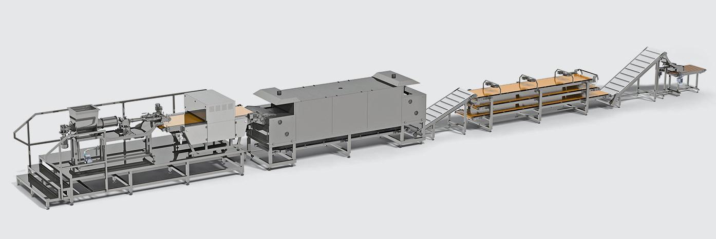 خط أوتوماتيكي لإنتاج خبز التورتيلا  Tortilla production line - foto №3