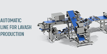 Automatic line for lavash production