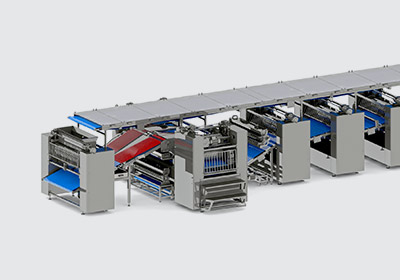 Automatic line for hard biscuit production - foto №4
