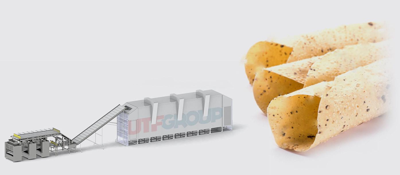 Автоматическая линия для производства папад - foto №2