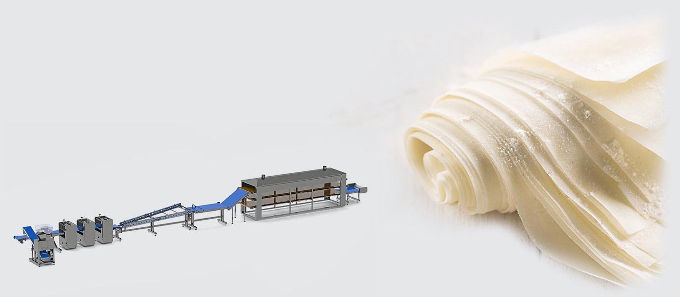 Automatic line for filo dough production - foto №2