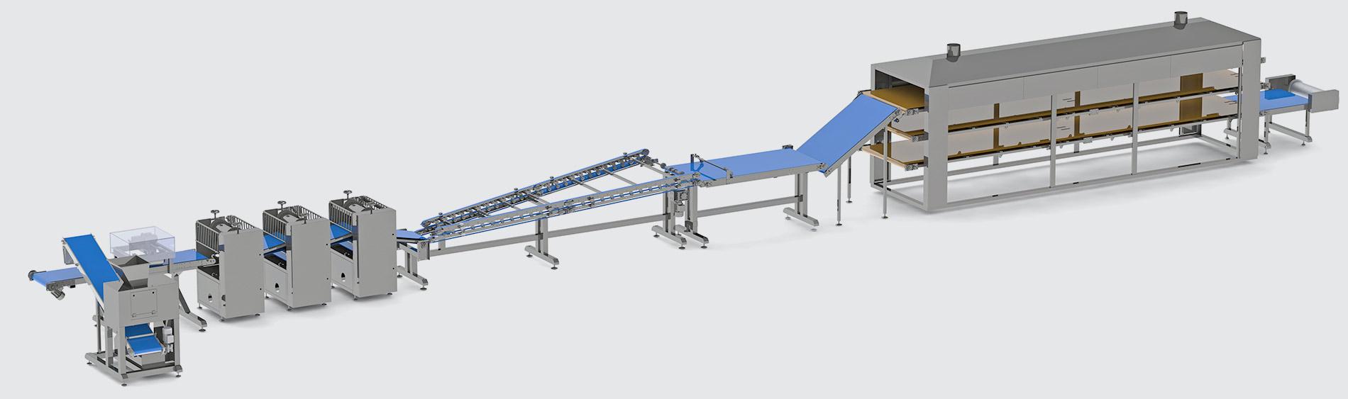 Automatic line for filo dough production - foto №3
