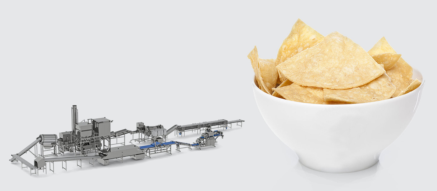 Automatic line for multigrain chips production - foto №2
