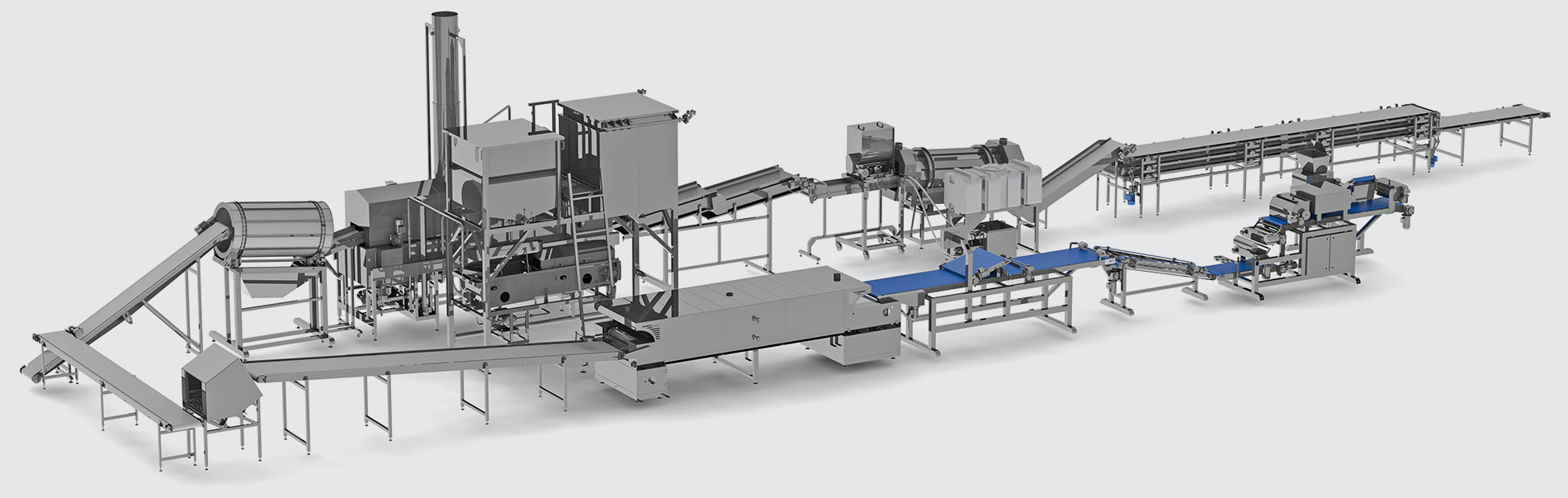 Automatic line for multigrain chips production - foto №6