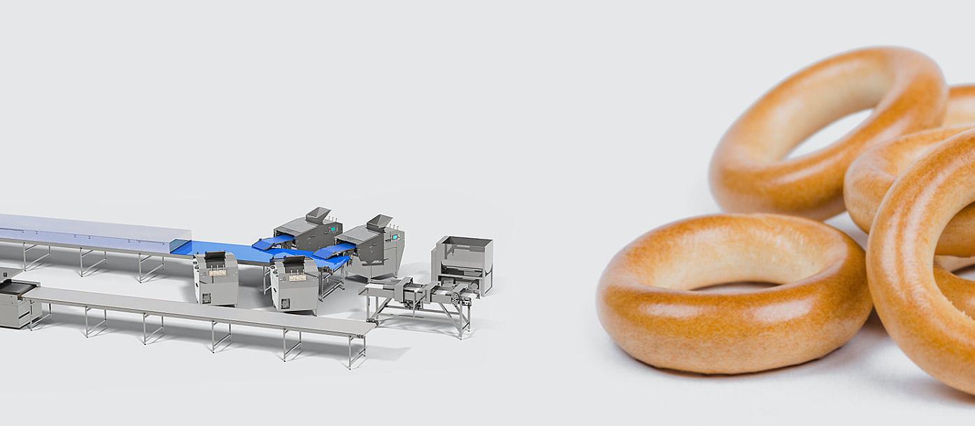 Автоматическая линия для производства бараночных изделий - foto №2