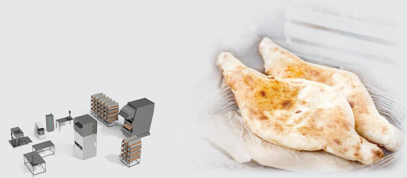 Equipment for Georgian lavash and uzbek flatbread - foto №2