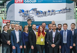 UTF GROUP приняла участие в Международном форуме пищевой промышленности и упаковки IFFIP 2019.