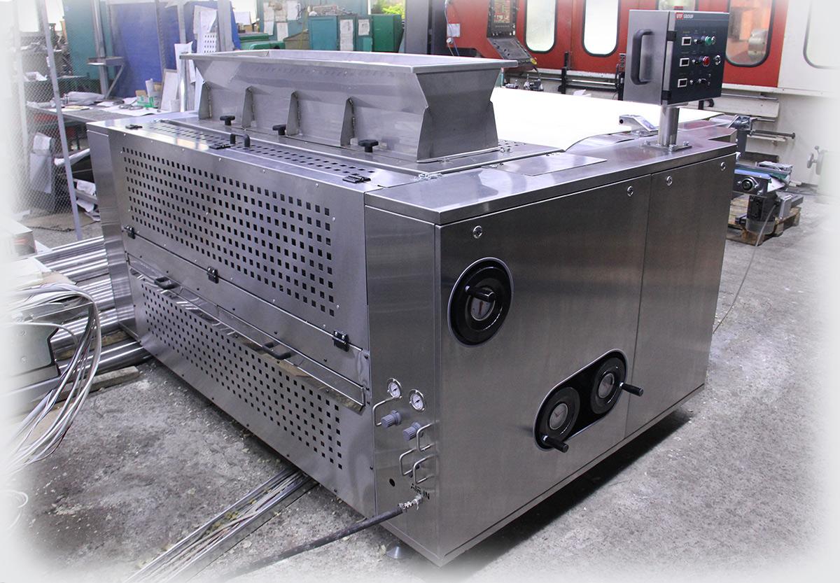Нова машина для виробництва цукрового печива з шириною конвеєра 1,2 м