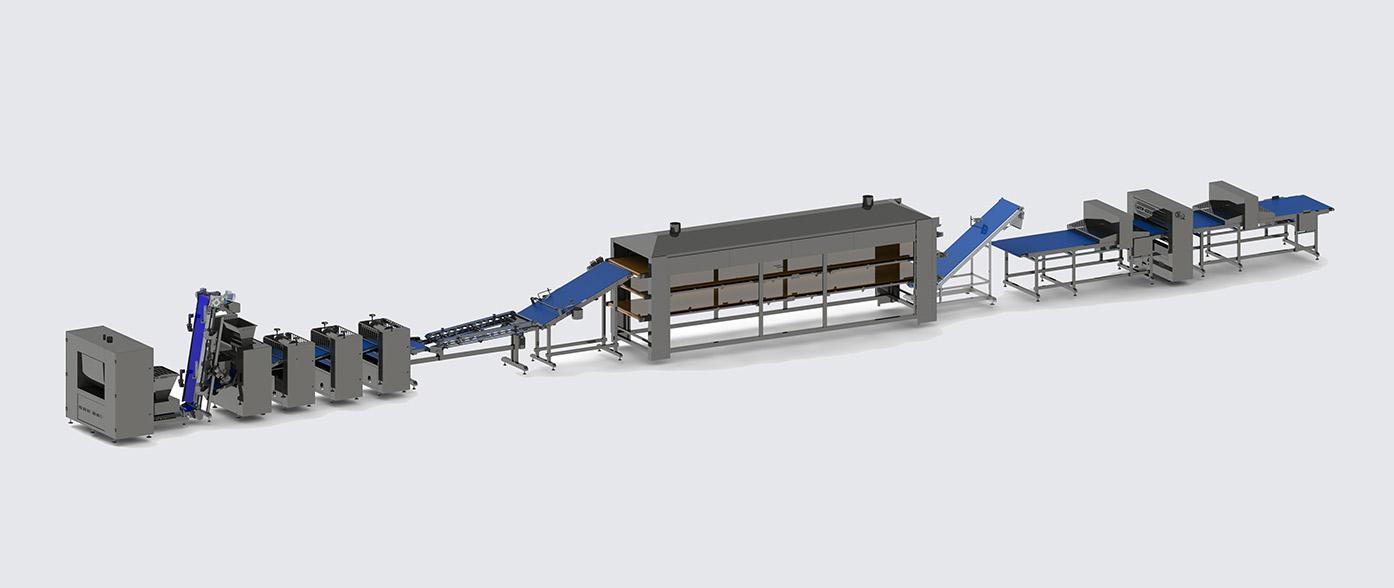 Автоматическая линия для производства теста фило - foto №3