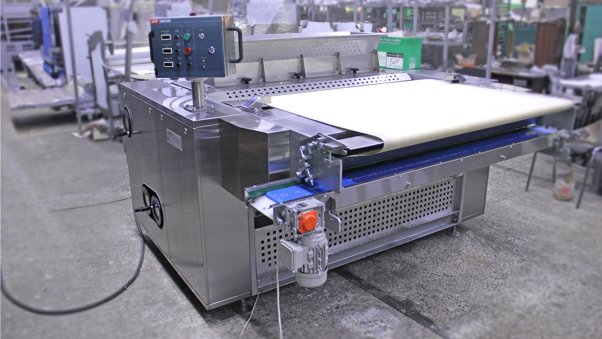 Rotary moulding machine for soft biscuits - foto №4_1