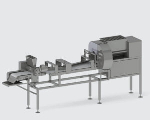 DOUGH DIVIDING MACHINE WITH ROUNDING DEVICE - foto №2316