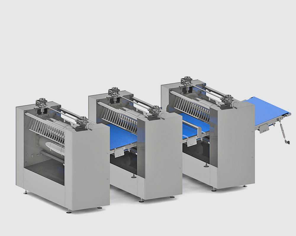 THREE-MODULAR ROLLING MACHINE - foto №2398