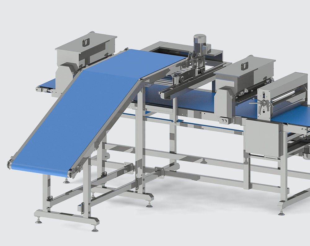 TRANSVERSE PUFF PASTRY LAYING UNIT - foto №2454