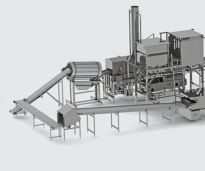 Automatic line for multigrain chips production - foto №4