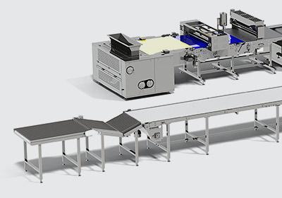 Автоматическая линия для производства сахарного печенья - foto №4