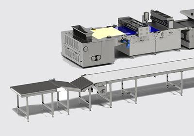 خط أوتوماتيكي لإنتاج بسكويت الناعم  Soft biscuit production line - foto №4