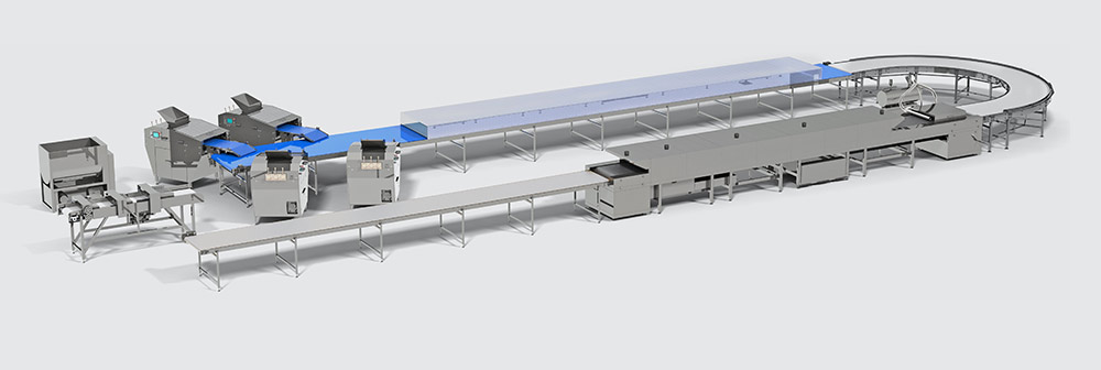 Automatic line for the production of bread rings - foto №3
