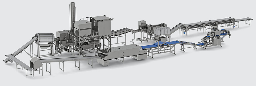 Automatic line for multigrain chips production - foto №3