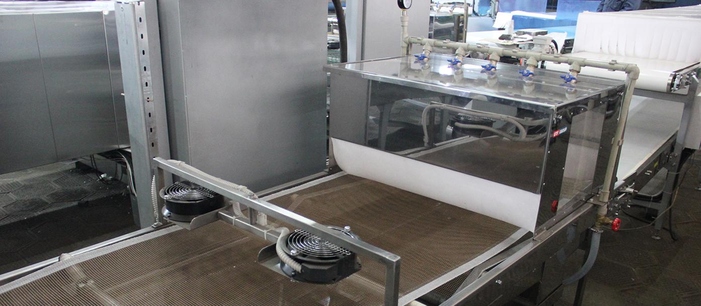 Полуавтоматическая линия для производства лаваша отгружена в Германию #1
