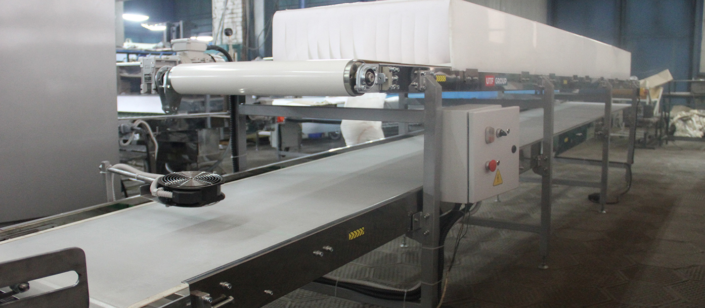 Semiautomatic line for the production of lavash is shipped to Germany #2