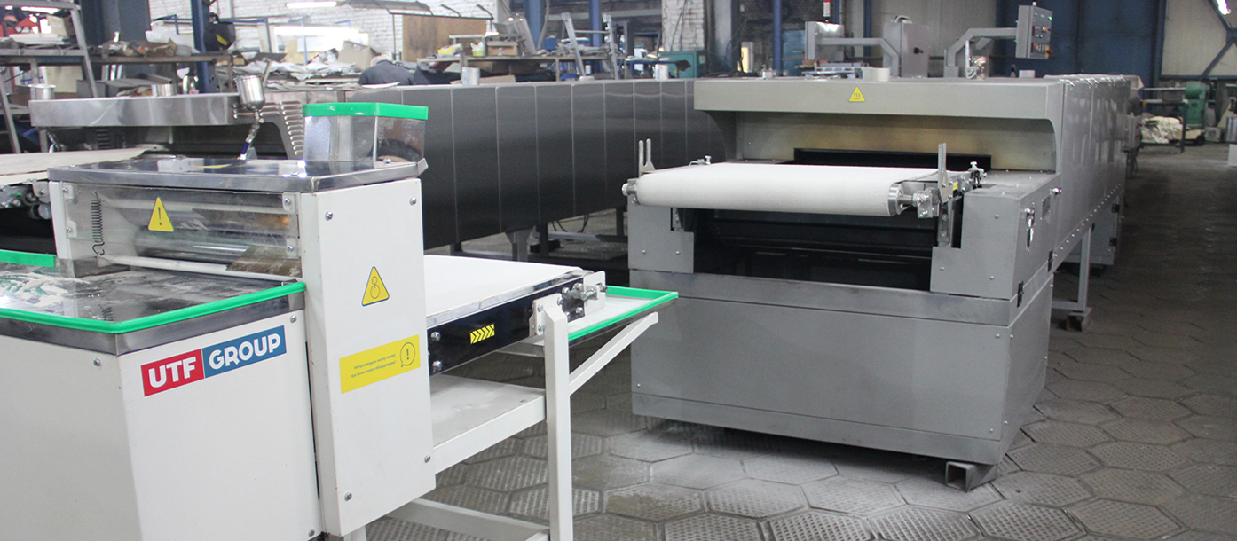 Semiautomatic line for the production of lavash is shipped to Germany #0