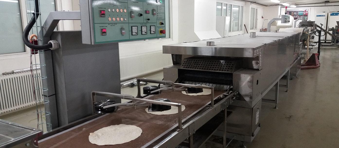 Automatic lavash production line for Sweden #1