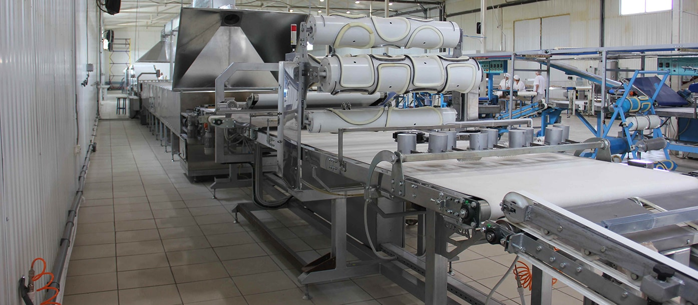 UTF GROUP presents the highest capacity lavash production line in the world #2