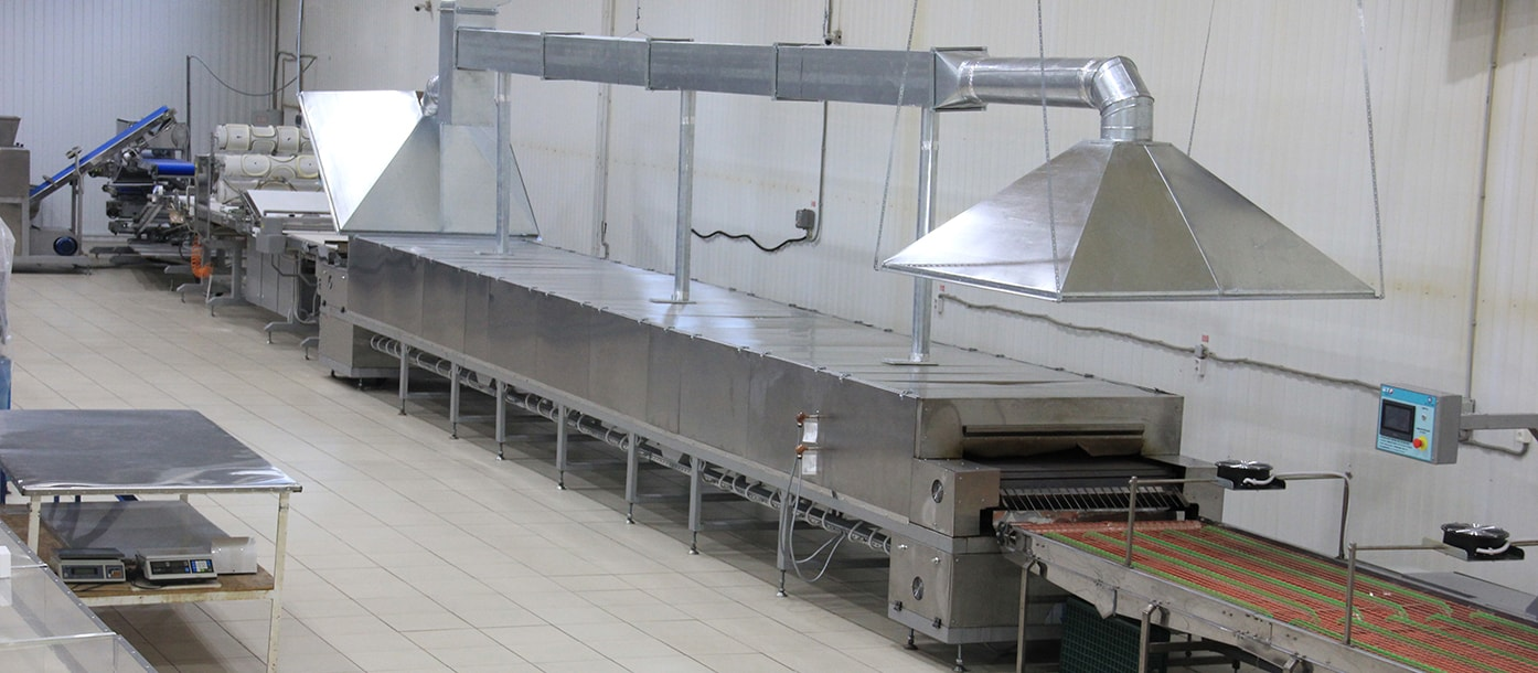 UTF GROUP presents the highest capacity lavash production line in the world #1