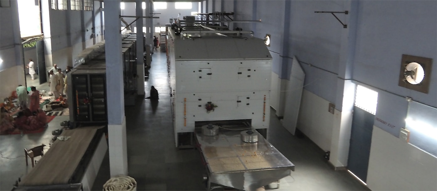 Commissioning of automatic line for pasta production is carried out in India #2