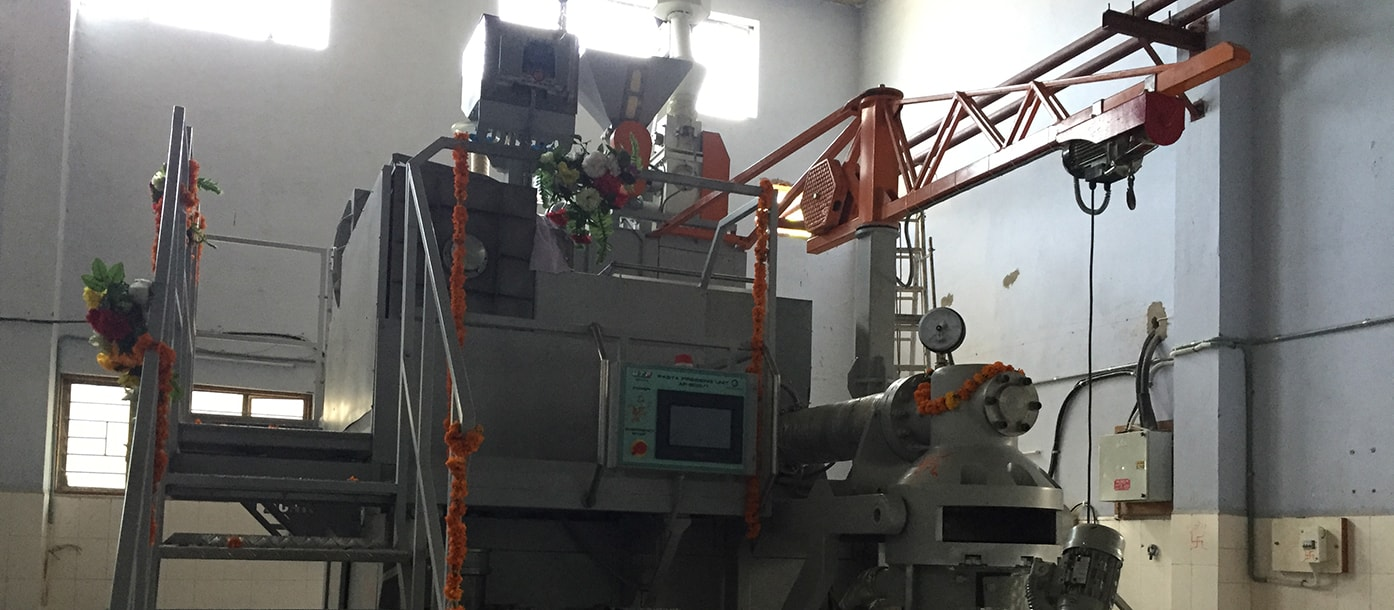 Commissioning of automatic line for pasta production is carried out in India #3