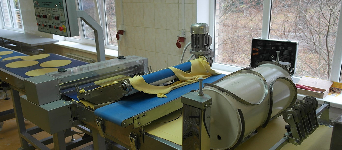 Automatic line for the production of dough bases for cakes was put into operation in the Kiev region #2
