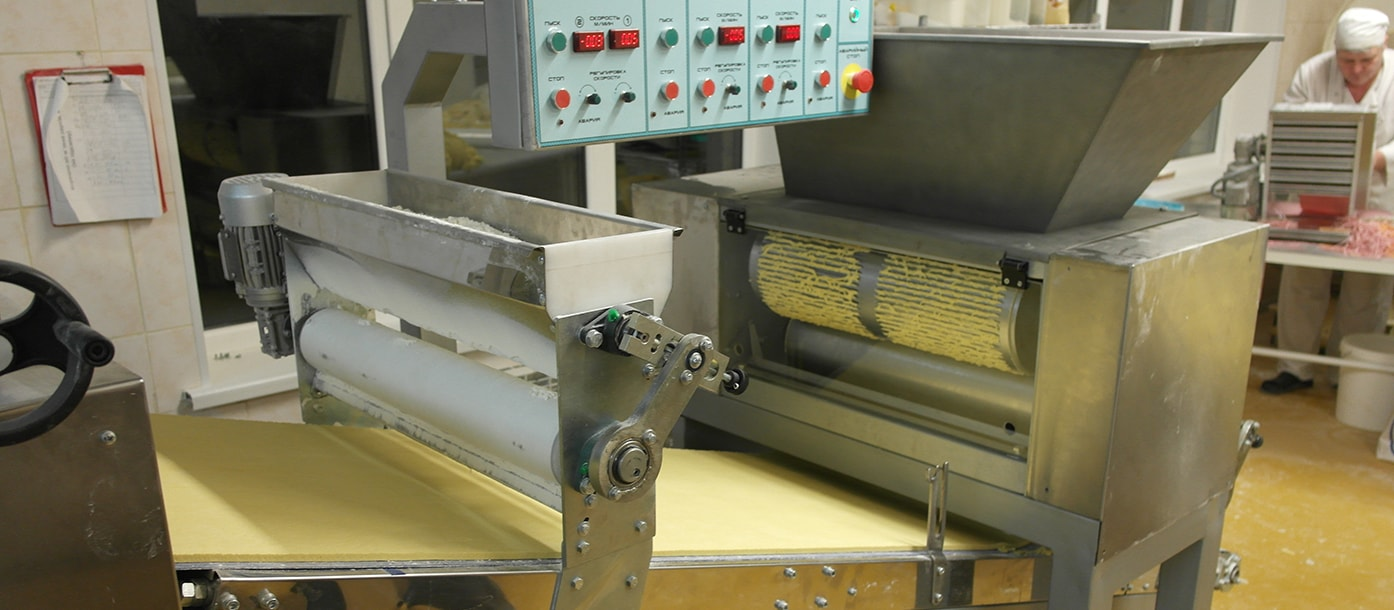 Automatic line for the production of dough bases for cakes was put into operation in the Kiev region #1