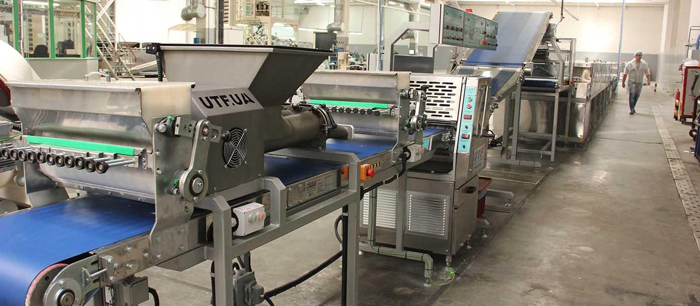 Automatic line for bread sticks grissini launched at production of JSC