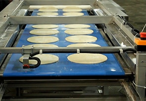 Line for the production of dough bases for cakes was manufactured for the Ukrainian customer