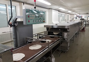 Automatic lavash production line for Sweden
