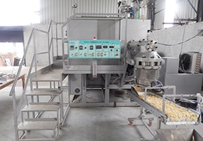 Automatic line with the capacity 400 kg/h has been launched in India