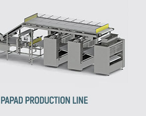 Papad production lines