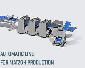 Matzo production lines