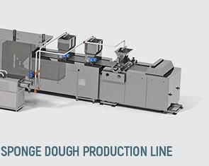 خطوط إنتاج الكيك  Sponge cake production line