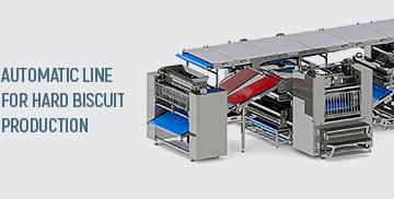 خط أوتوماتيكي لإنتاج البسكويت الصلب  Hard biscuit production line