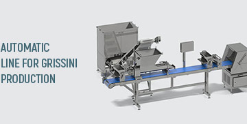 خط انتاج الجريسيني  Grissini breadsticks automatic line