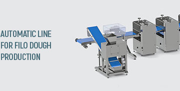 Automatic line for filo dough production