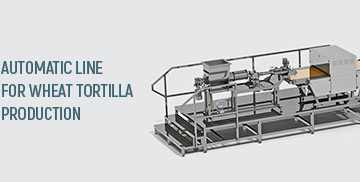 Tortilla production lines